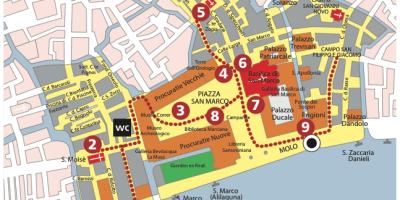 Area Marciana - esempio di itinerario