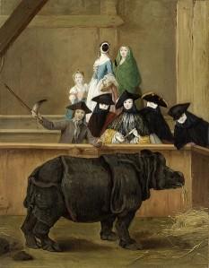 Longhi, Il rinoceronte.