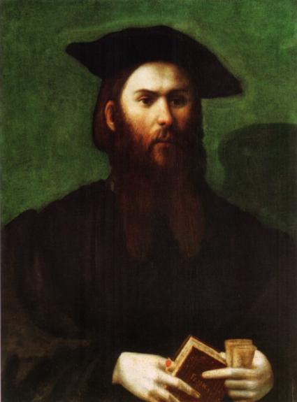 Parmigianino, Ritratto d'uomo con Petrarchino, Maison d'Art, Monte Carlo