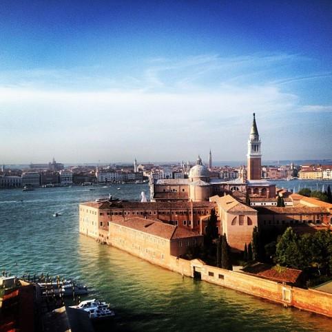 Vista di San Giorgio Venezia