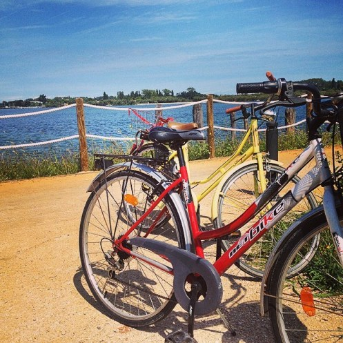 In bici a Pellestrina