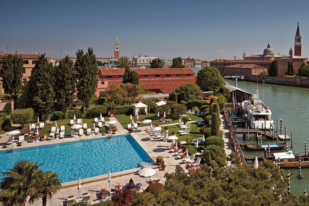 Piscina Hotel Cipriani Venezia (credit HotelTravel)