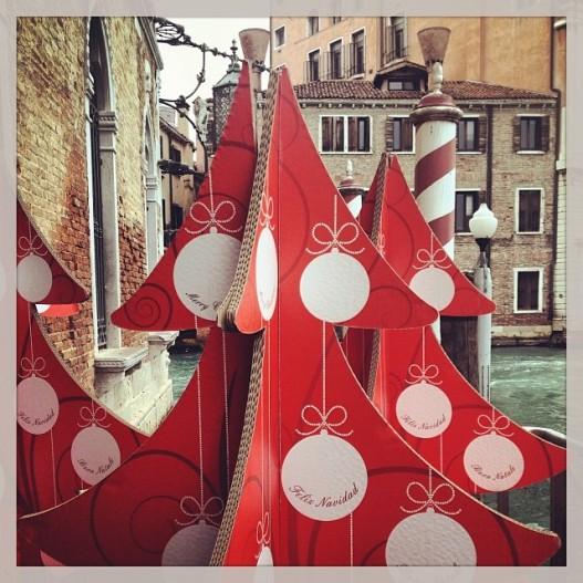 Alberi di Natale a Venezia