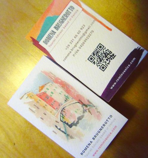 I nuovi biglietti da visita