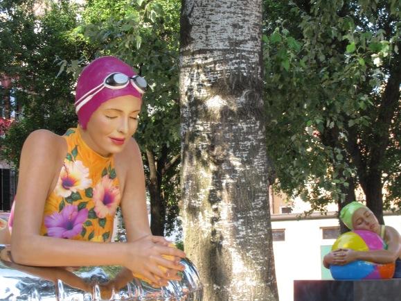 Carole Feuerman Giardini della Marinaressa