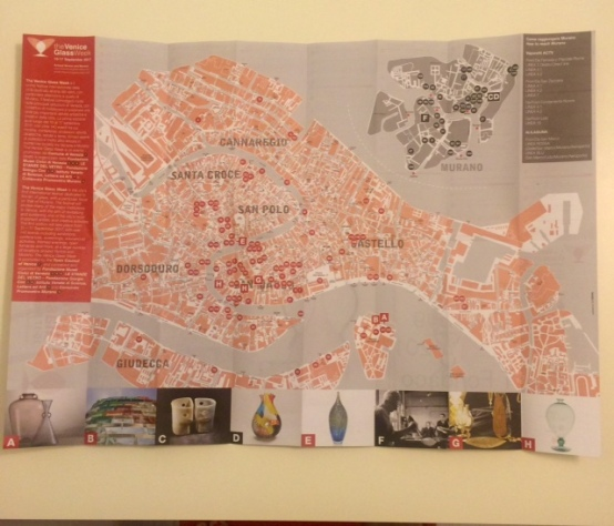 The Venice Glass Week Mappa