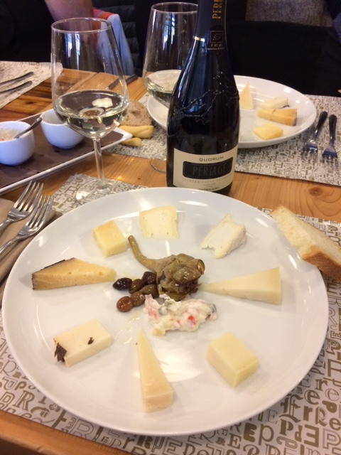 Perenzin - degustazione di formaggi