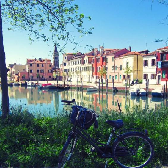 Malamocco in bici