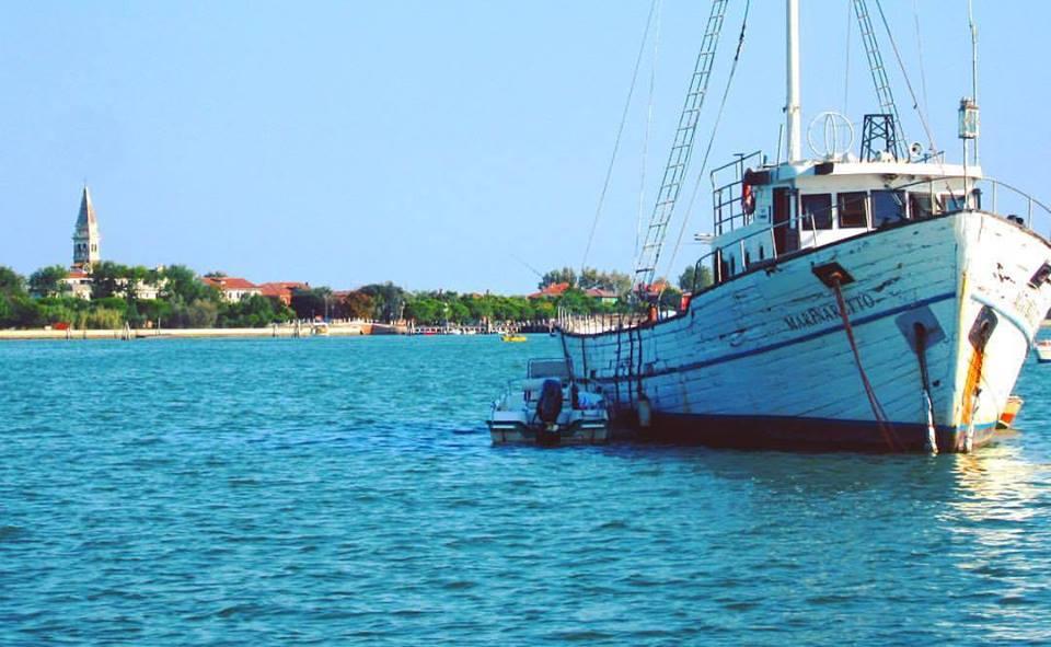 Fare il bagno nella laguna di Venezia